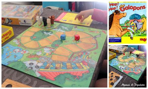 jeu de société hop hop galopons Haba