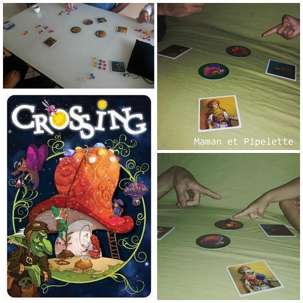 Jeu de société crossing dans 1-2-3 jouez