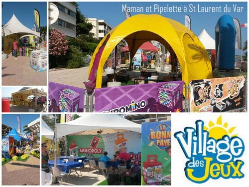 village des jeux la tournées des plages 2015