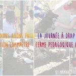 Une journée à la récréation Champêtre ferme pédagogique, Piscine à Drap