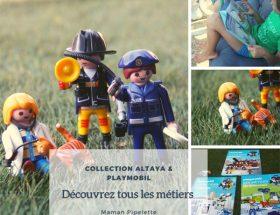 Découvrez tous les métiers avec Altaya et Playmobil