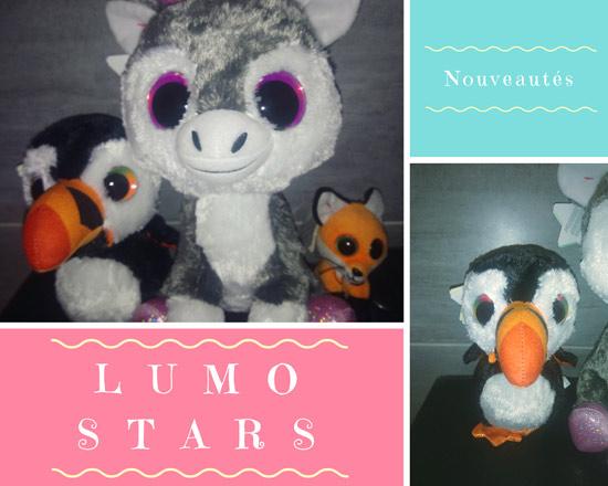 Lumo Stars, des peluches toutes douces que l'on ne peut qu'aimer